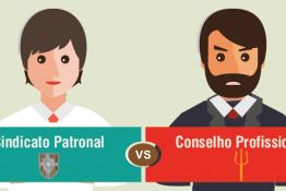 Quais as diferenças entre sindicato patronal e conselho profissional?