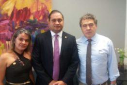 Fenadesp visita deputado Weverton Rocha – MA