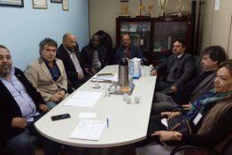 Presidente e departamento jurídico se reunem para discutir o Renave