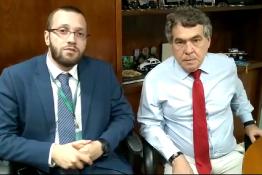 Deputado federal eleito declara apoio aos despachantes contra a Placa Mercosul