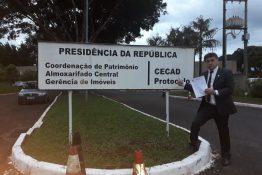 Everton protocola documento contrário à Placa Mercosul na Casa Civil